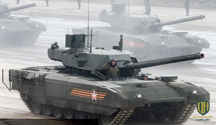 """دبابة """"أرماتا تي-14"""" الروسية"""
