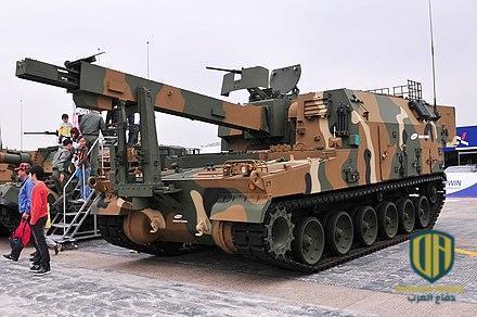 """مدفع الهاوتزر الكوري الجنوبي """"كيه-9 ثاندر"""""""