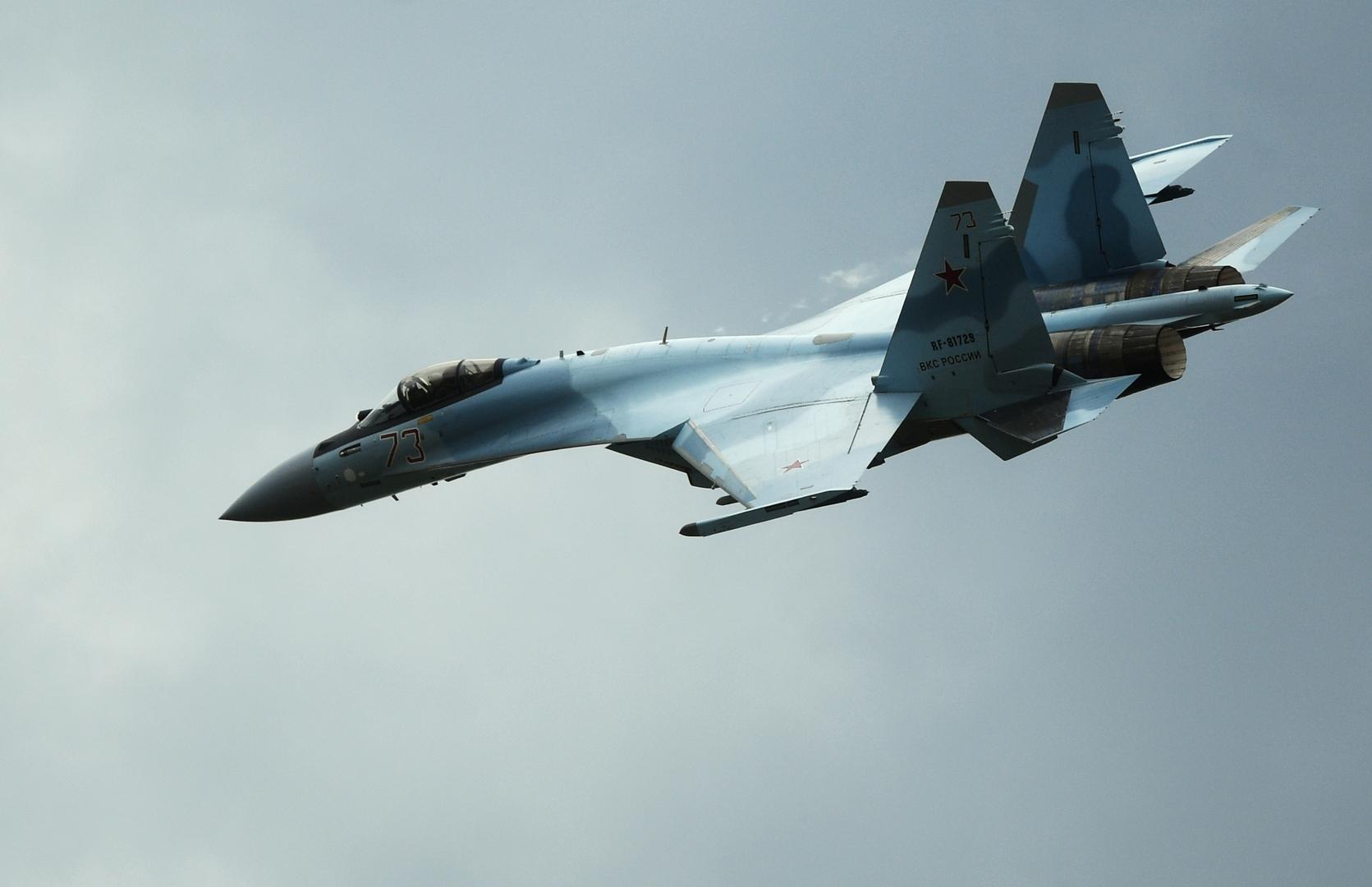 """""""ميليتري ووتش"""": ما مدى نجاح طائرة """"سو-35"""" الروسية؟ تقييم للمقاتلة بعد أول حادث تحطم لها"""