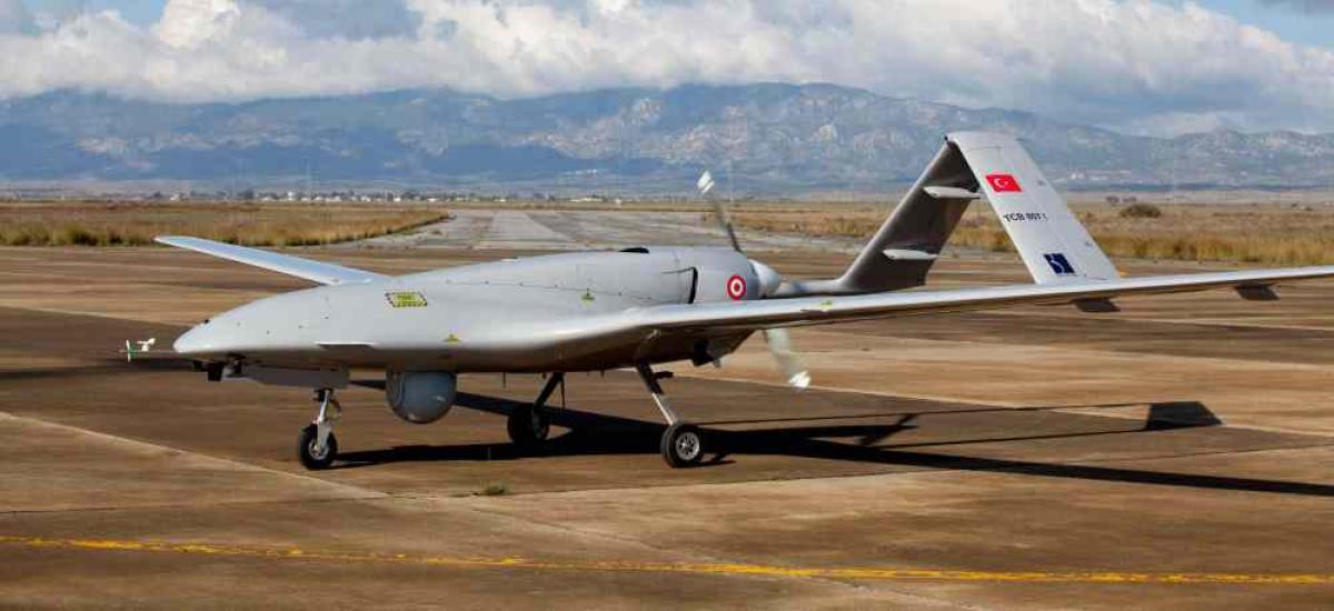 طائرة مسيرة تركية من طراز بيرقدار