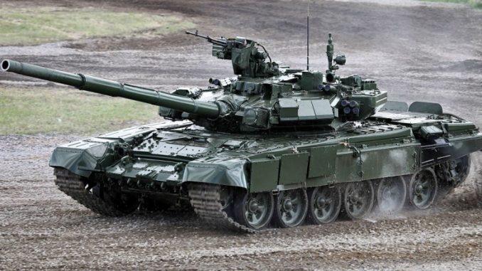 """دبابة """"تي-90 إي"""" الروسية"""