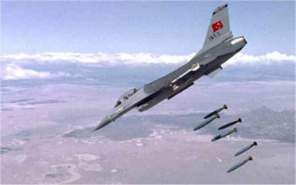 مقاتلة F-16 تابعة للقوات الجوية التركية