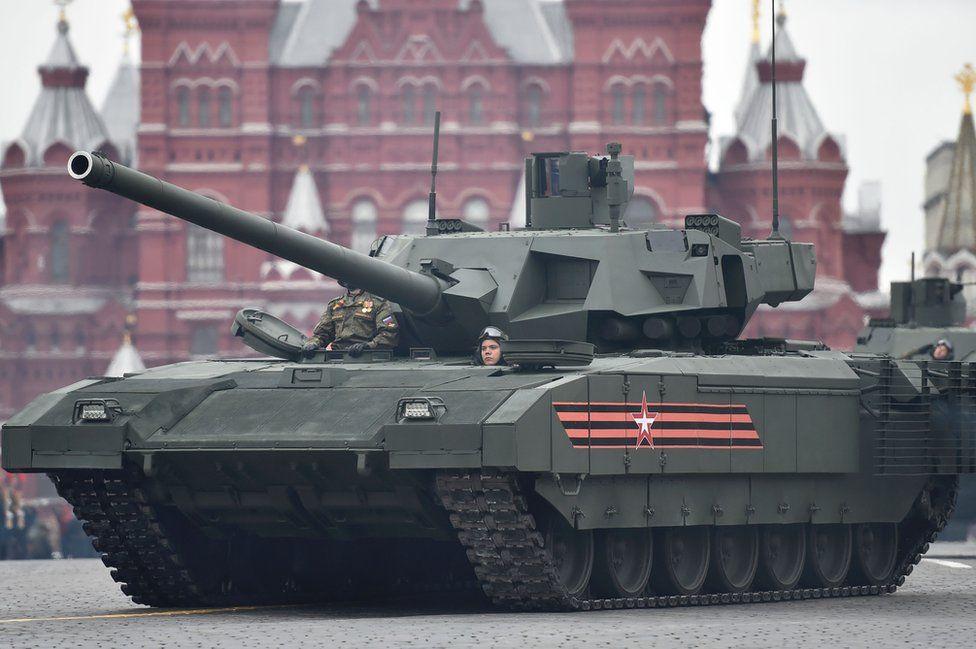 """دبابة """"أرماتا"""" الروسية"""