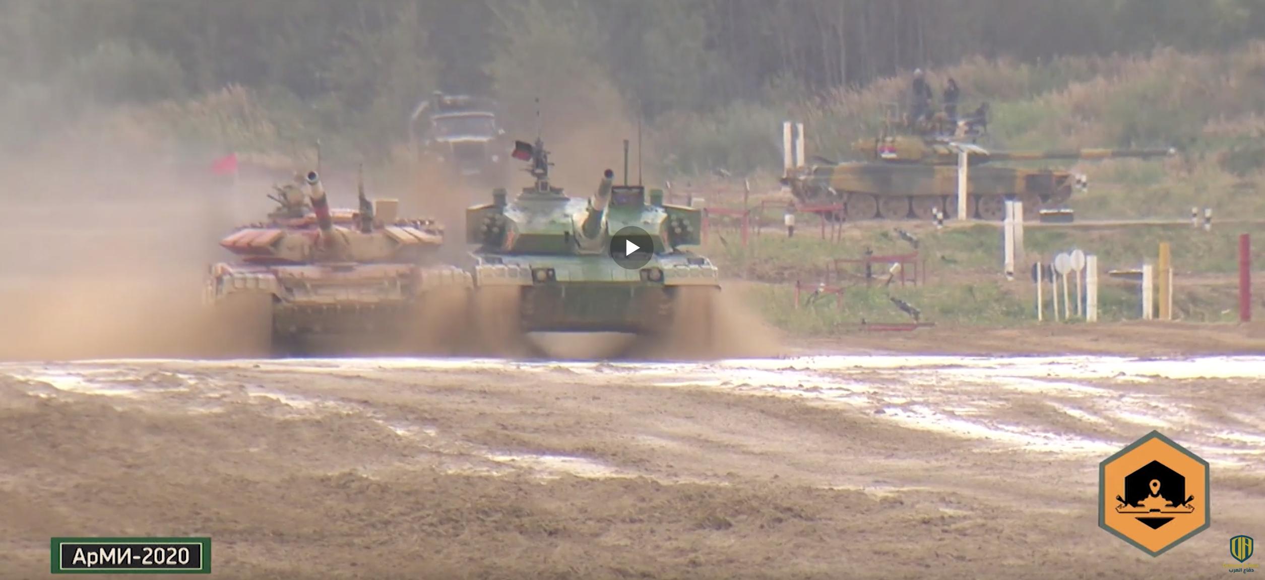 بياتلون الدبابات في أرميا 2020