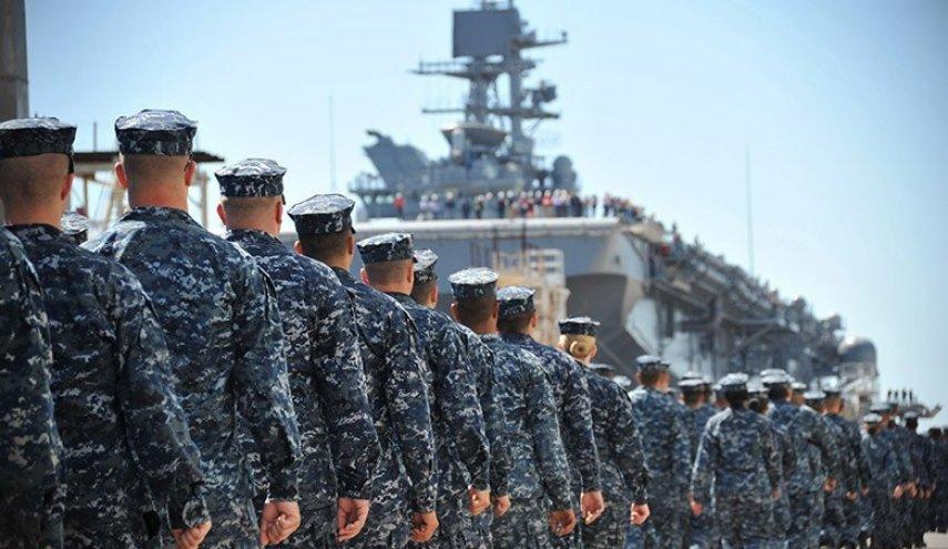 عناصر من البحرية الأمريكية