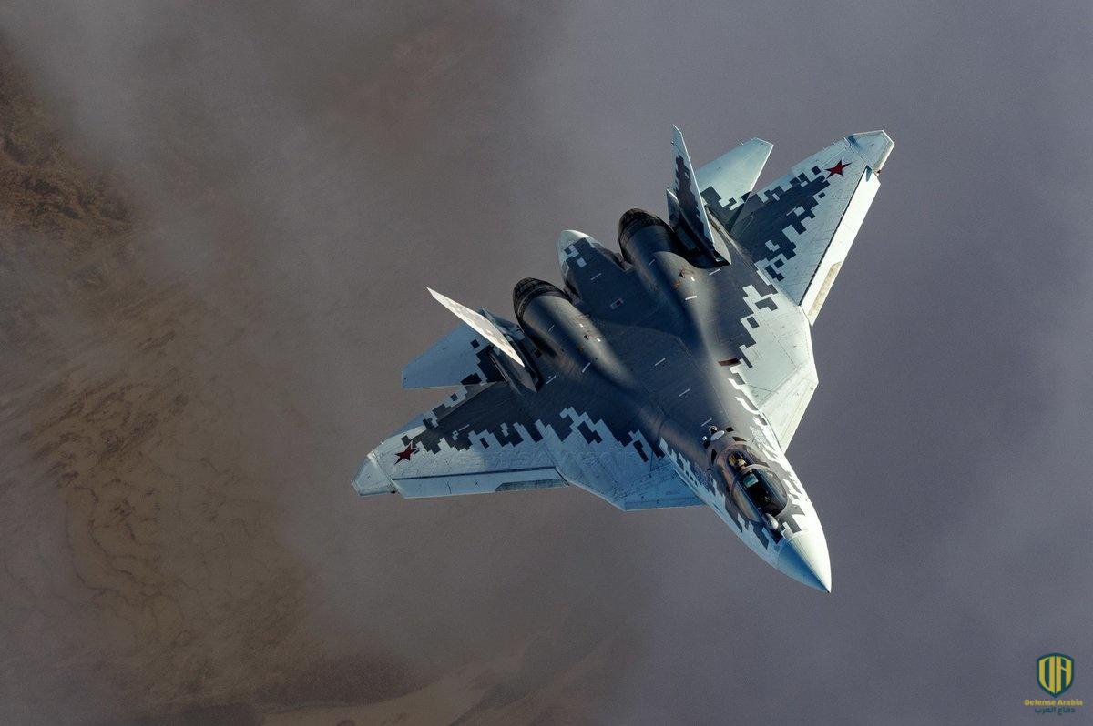 """مقاتلة الجيل الخامس الروسية """"سو-57"""""""