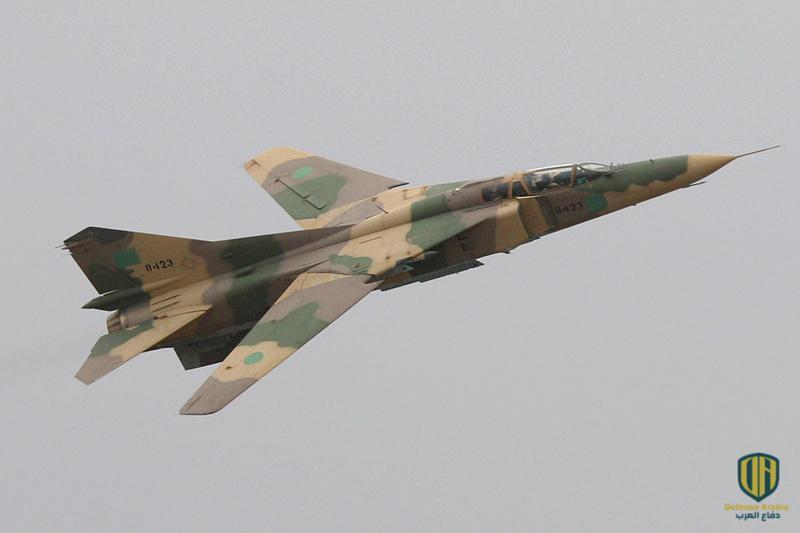 فيديو: مقاتلة تابعة للجيش الليبي تحلق على ارتفاع بضعة أمتار عن الأرض