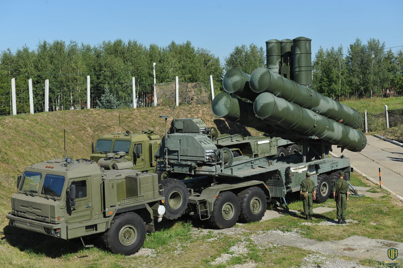 أنظمة الصواريخ المضادة للطائرات إس 400