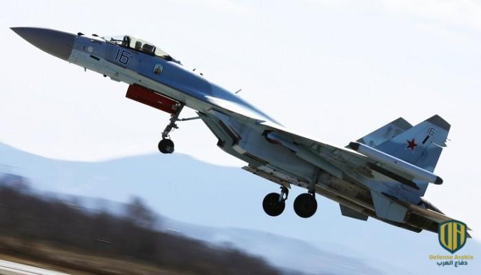 """إعلام روسي: تحطم مقاتلة """"سو-35"""" في البحر"""