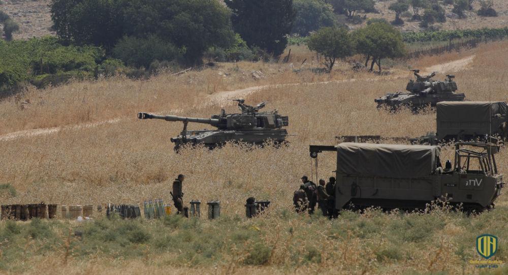 دبابات الجيش الإسرائيلي