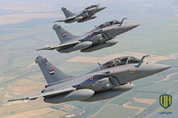 مقاتلات جوية مصرية