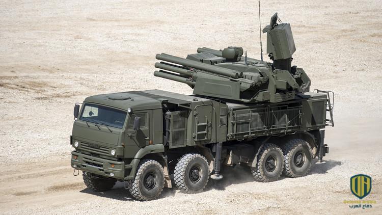 """منظومة """"بانتسير"""" المدفعية الصاروخية المضادة للطائرات"""