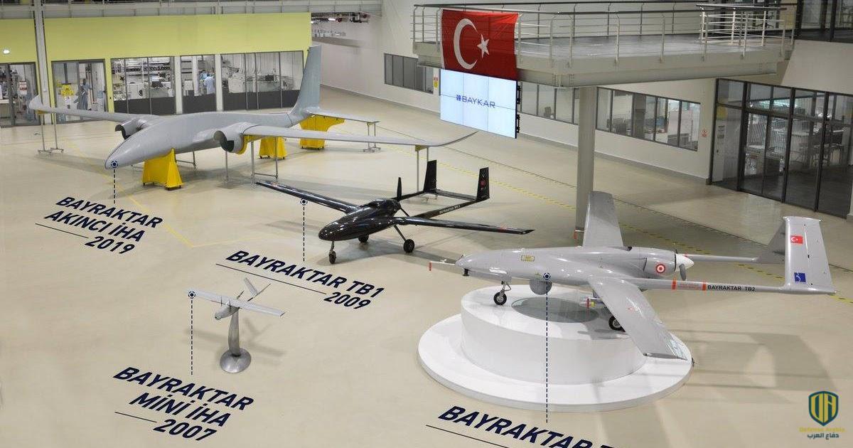 طائرات بدون طيار تركية