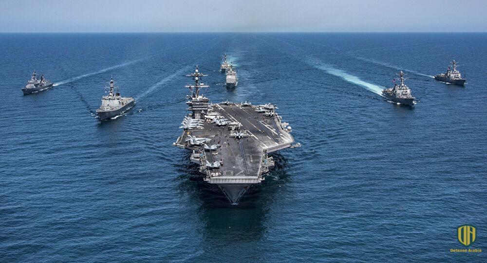 قوات بحرية أمريكية في المحيط الهادي
