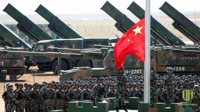 ظهور نادر لرشاش صيني رهيب