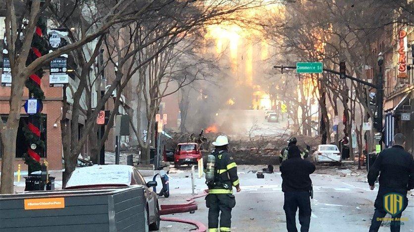 انفجار مدينة ناشفيل الأميركية