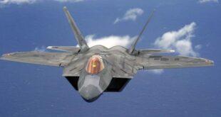 """مقاتلة """"إف-22"""" الأمريكية"""