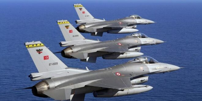 """مقاتلات """"إف-16"""" تابعة لسلاح الجو التركي"""