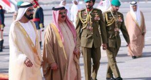 الملك حمد بن عيسى آل خليفة والشيخ محمد بن راشد آل مكتوم