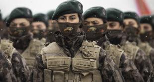 تخريج 500 سيدة دفعة واحدة ضمن قوات الشرطة الخاصة