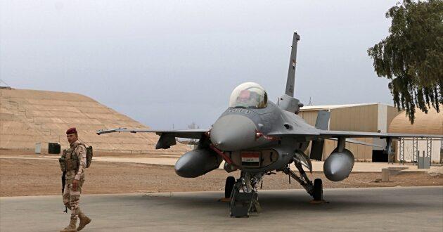 """مقاتلة """"F-16IQ"""" تابعة لسلاح الجو العراقي"""
