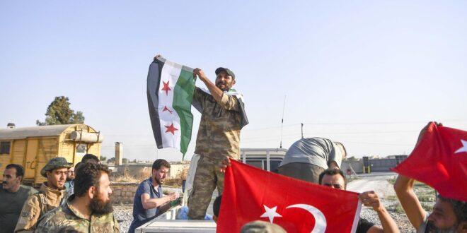 قوات مدعومة من تركيا