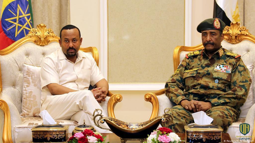 عبد الفتاح البرهان وآبي أحمد