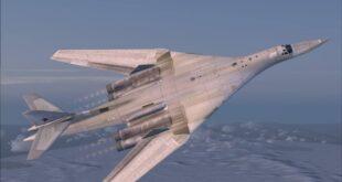 """قاذفة """"توبوليف تي يو-160"""" الروسية - أرشيفية"""