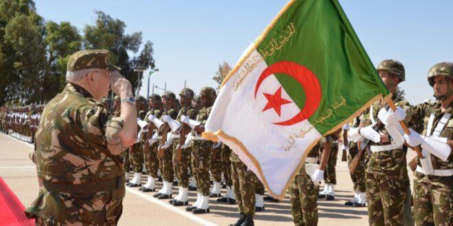 القوات المسلحة الجزائرية