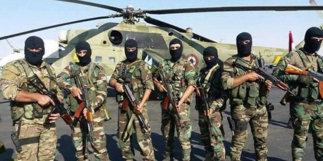 أفراد من القوات الخاصة السورية - أرشيفية