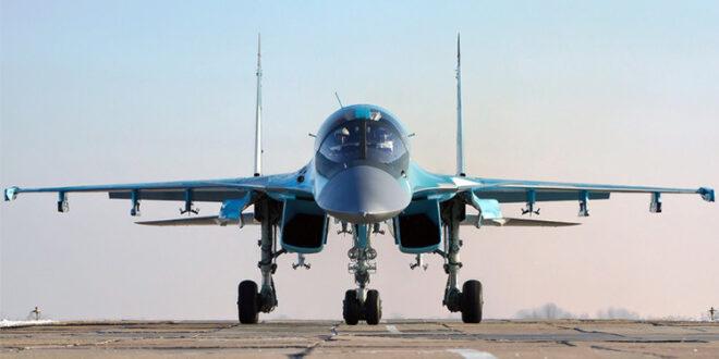 """طائرة """"سو-34"""" الروسية"""