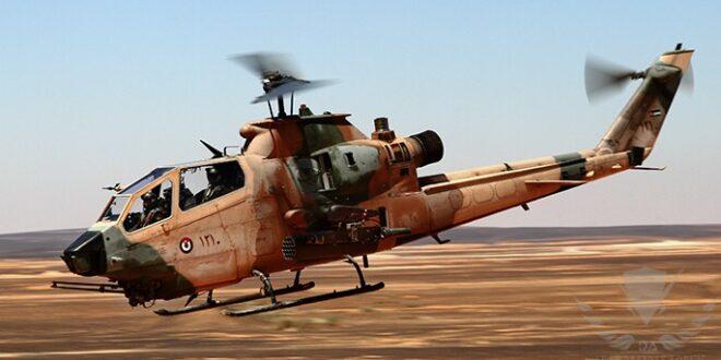 """مروحية """"كوبرا"""" تابعة للقوات الجوية الأردنية"""