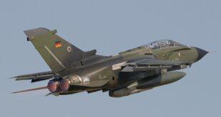 """مقاتلة من طراز """"بانافيا تورنادو"""" تابعة لسلاح الجو الالماني"""