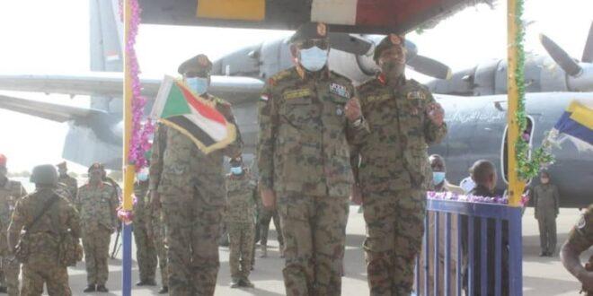 """لقطة للتدريب المشترك """"نسور النيل 2"""" بين السودان ومصر"""