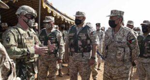 بالصور: المنطقة العسكرية الجنوبية الأردنية تنفذ تمريناً عسكرياً مع القوات الأمريكية