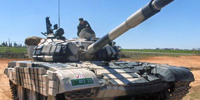 دبابة T-72 تابعة للجيش المغربي