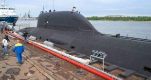 """الغواصة النووية الرئيسية متعددة الأغراض """"كازان"""""""