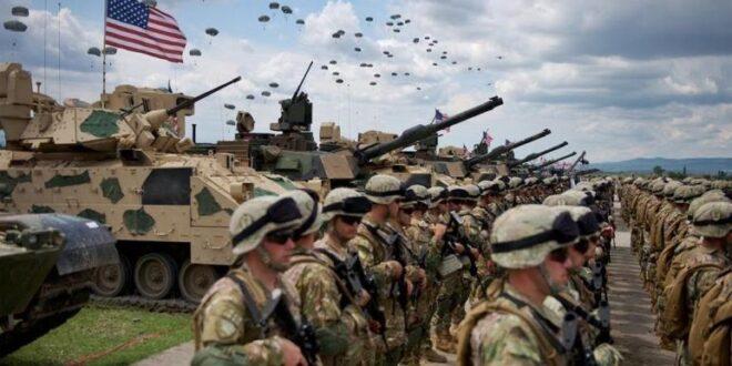 عملية إنزال ضخمة للجيش الأمريكي لأكثر من 700 عنصر قرب الحدود الروسية