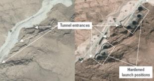 صور الأقمار الصناعية تلتقط منشأة صاروخية جديدة في إيران
