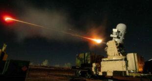 """منظومة """"C-RAM"""" الأمريكية تتصدى لصاروخ كاتيوشا كان يستهدف مطار بغداد"""