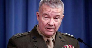 الجنرال كينيث ماكينزي: مصر تمارس قدرا هائلا من ضبط النفس في موضوع سد النهضة