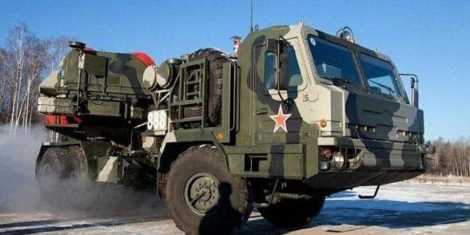 """قطعة تابعة لنظام الدفاع الجوي """"إس -500"""" الروسي"""