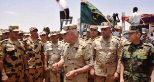"""فيديو.. اختتام تدريبات """"حماة النيل"""" بين جيشي مصر والسودان"""