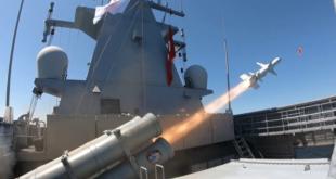 """اردوغان أعلن نجاح اختبار صاروخ """"أطمجه"""" المضاد للسفن (فيديو)"""