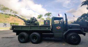 شاحنة أمريكية بمدفع سوفيتي