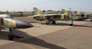 """القوات الجوية الليبية تنجح في إعادة طائرة من طراز """"ميغ 23"""" إلى الخدمة بطريقة عجيبة"""