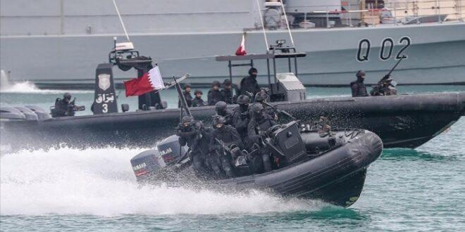 قوة من البحرية القطرية