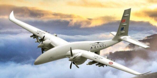 طائرة أكينجي بدون طيار التركية