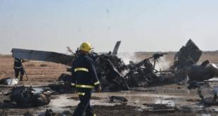 العراق.. تحطم مروحية ومقتل 5 عسكريين