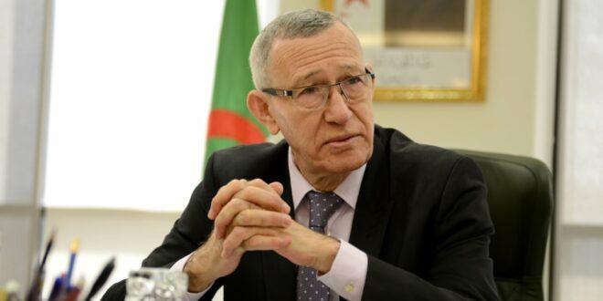 وزير الاتصال والناطق باسم الحكومة الجزائرية عمار بلحيمر